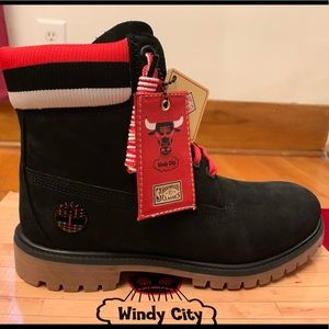 Chicago Bulls Timberland Boots NWT